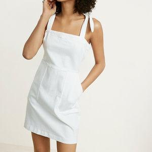 White Denim Mini Dress - NWOT